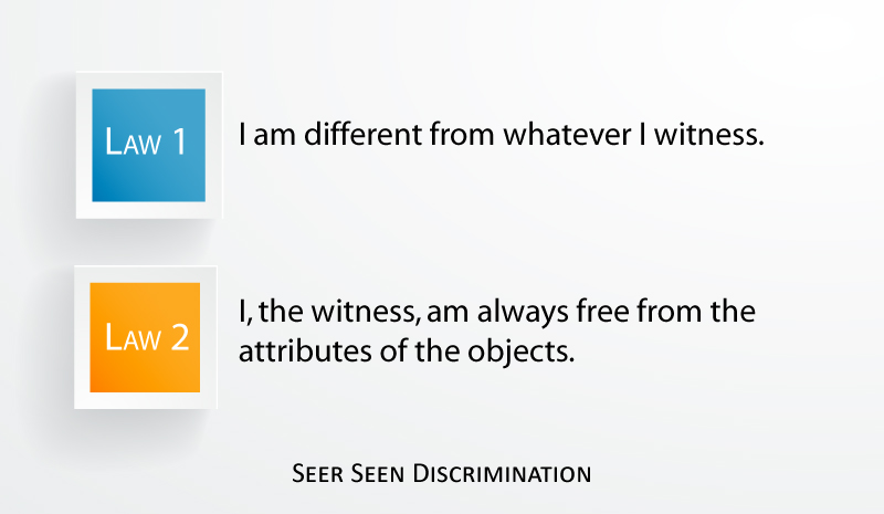 Seer Seen Discrimination